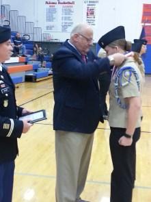 Cadet Rachel Barkley
