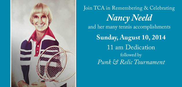 Nancy Neeld court dedication August 10