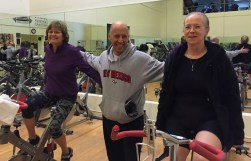 Spin class with Joe Behrend