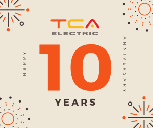 Celebrating 10 Years as Your Trusted Vancouver Electricians