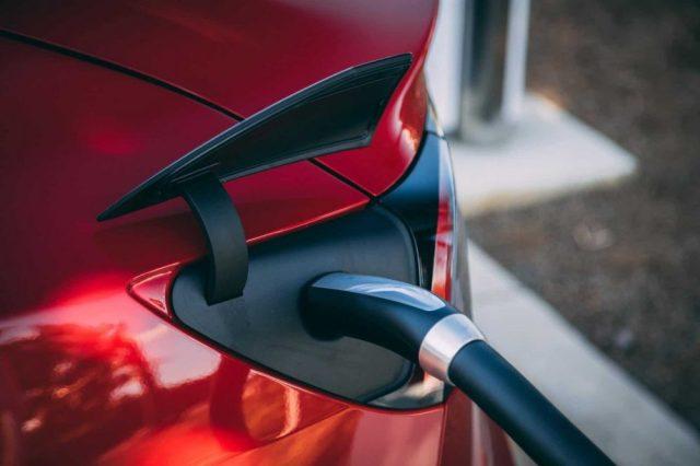 Photo of Tesla home charging station
