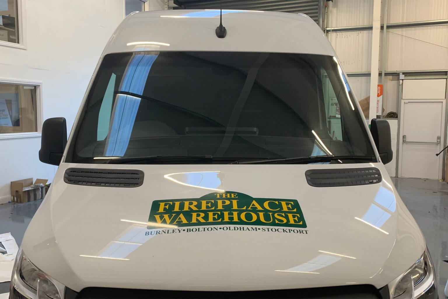 The Fireplace Warehouse Vehicle Graphics
