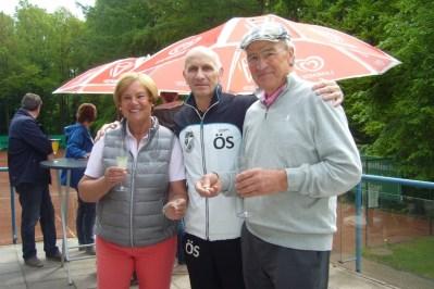 Bruni und Sigurd Koerner Ehrung für 50 Jahre Mitgliedschaft