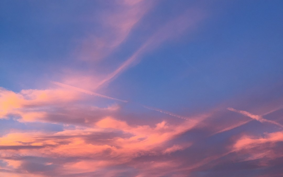 Sunset Magic on the Sky Deck