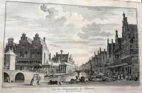 Market scene in Alkmaar ca. 1746