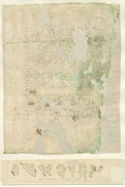 Farewell document. Credit: Rijksmuseum