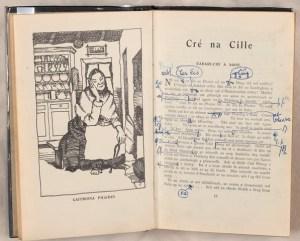 TCD MS 10878/L/2/1 Cré na Cille (An chéad eagrán, 1949)