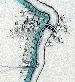 House, bawn and mill: Castlecoote, County Roscommon (From Map 11)