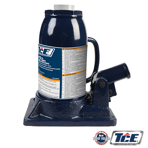 TCE91207 BOTTLE JACK SPECS 12TON