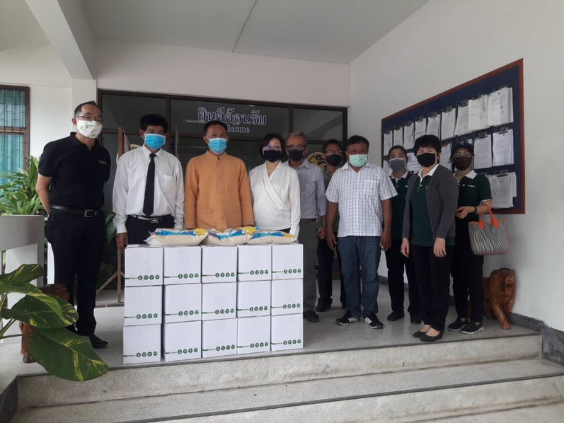 Sharing happiness: TCFF donated the essential stuff and money during the Coronavirus  pandemic