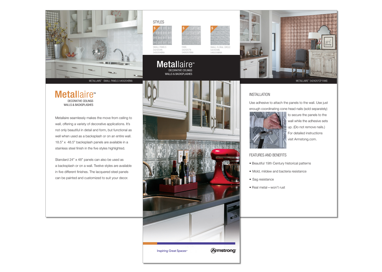 Armstrong Metallaire Brochure