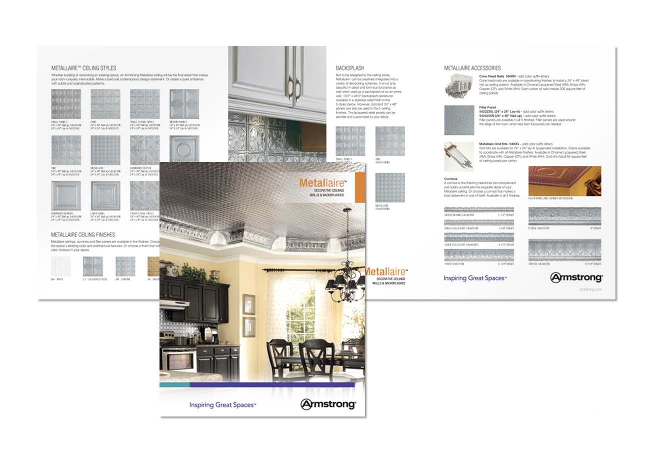 metallaire brochure for armstrong ceilings