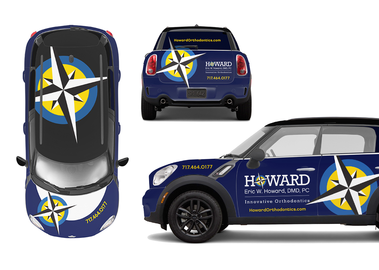 Howard Orthodontics Car Wrap