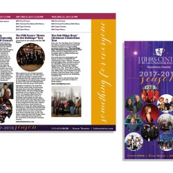 The Luhrs Center Season Brochure, Shippensburg University