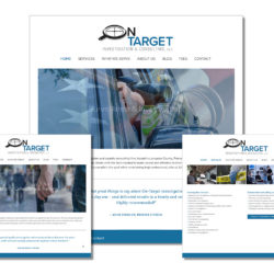 NEW_On Target web page
