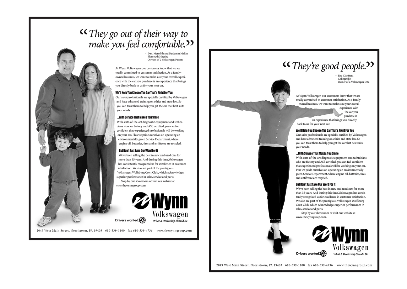 Wynn Group Ads