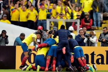 Ecuador despierta y golea 3-0 a Chile en eliminatorias