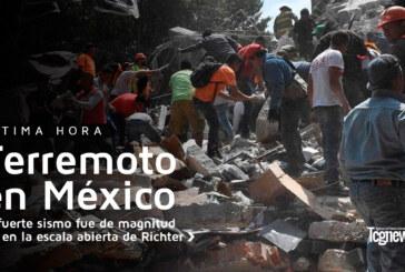 Terremoto de 7.1 sacude la capital de México