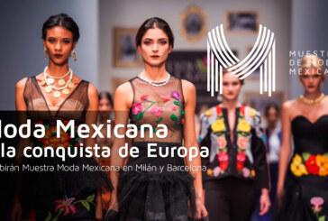 Moda mexicana a la conquista de Europa