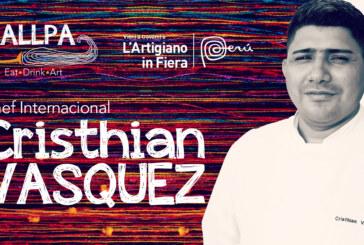 Cristhian Vásquez uno degli chef più famosi del Perù, sbarca finalmente a Milano