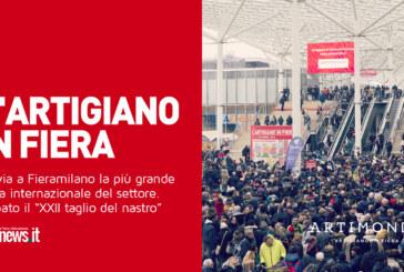 """Al via a Fieramilano la più grande fiera internazionale del settore. Sabato il """"XXII taglio del nastro"""""""
