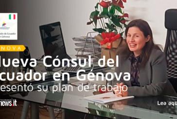 Cónsul del Ecuador en Génova presentó su plan de trabajo a medios de comunicación