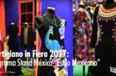 "Programa oficial del stand de Méxicoen el ""Artigianoin fiera"""