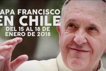 Chile se prepara para la visita del papa Francisco