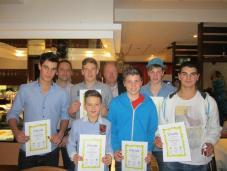 Junioren Gruppensieger Bezirksklasse 2 Oberbayern 2013
