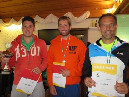 Sieger Herren A Landkreismeisterschaft Ebersberg 2015