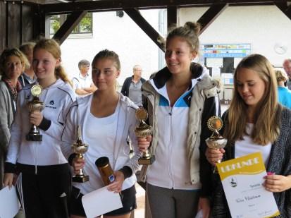 Sieger U18 weiblich Landkreismeisterschaft Ebersberg 2015