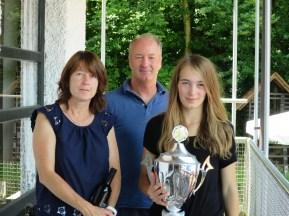 Sieger Damen Clubmeisterschaft TC Topspin Grafing Ebersberg 2017