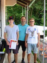 Sieger Junioren U18 Clubmeisterschaft TC Topspin Grafing Ebersberg 2017
