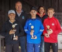 Sieger U14 männlich Landkreismeisterschaft Ebersberg 2017