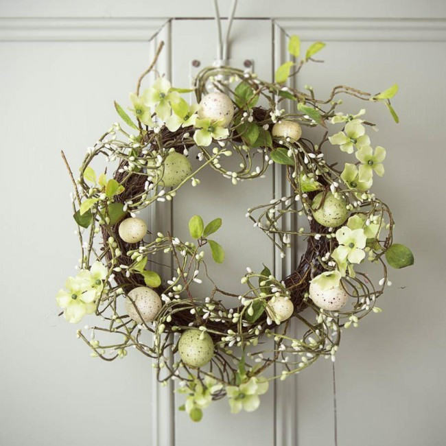 Country Meadow Easter Wreath