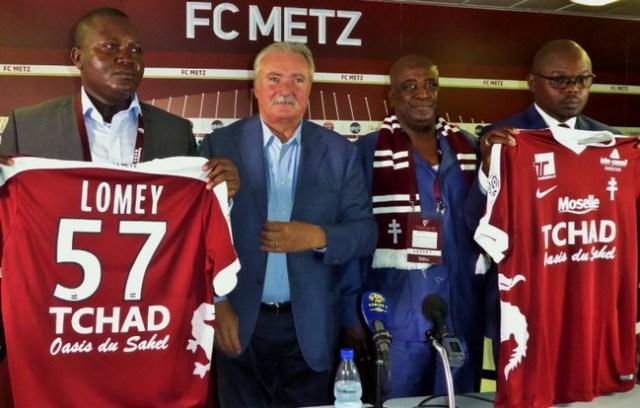 Tchad sponsor officiel du FC Metz