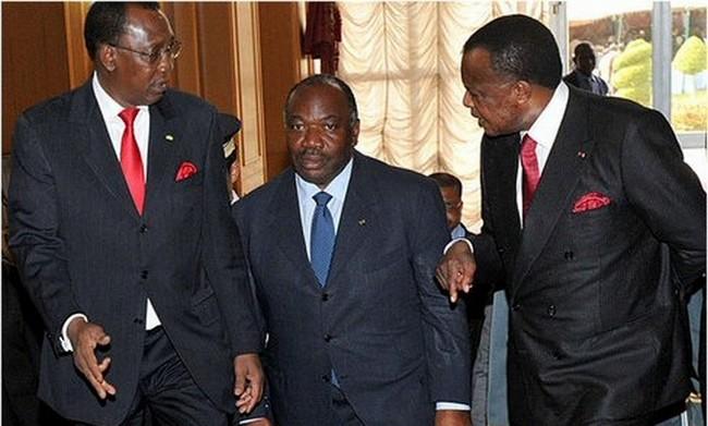 Déby Bongo et Sassou