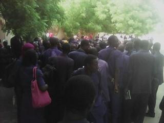 Etudiants de l'ENASS de N'Djaména