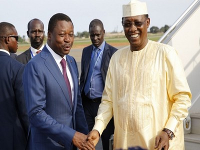 Togo: le Président de l'Union Africaine, Idriss Déby prend part ce samedi au sommet extraordinaire de Lomé pour la sécurité maritime