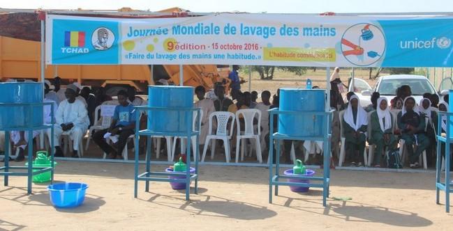9ème Journée mondiale du lavage des mains: célébration à la mairie du 10e arrondissement de N'Djamena