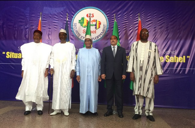 Les cinq pays du Sahel qui se disent «en première ligne contre le terrorisme» ont annoncé lundi à Bamako vouloir créer une force commune