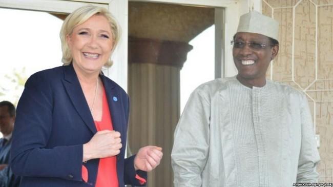 Élection présidentielle en France: le Président Idriss Déby accusé d'avoir financé la campagne de la candidate du Front National