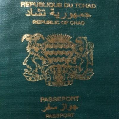 Le Tchad en rupture de stock de passeports vierges