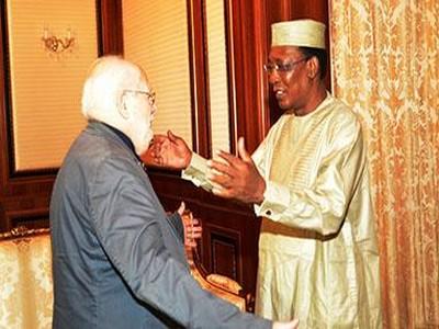 Tchad-France: le paléoanthropologue Michel Brunet reçu en audience par le Président Idriss Déby