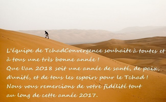 Tchad: bonne et heureuse année 2018 !