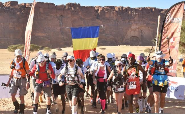 Marathon Treg de Fada, une course hors du temps dans le désert de l'Ennedi au Tchad