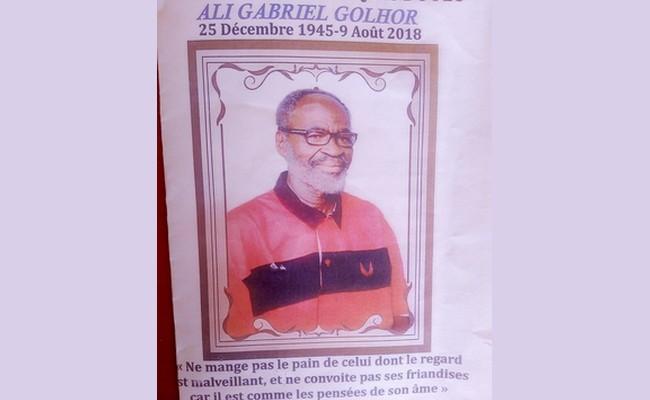 Tchad: témoignage de la CPDC à l'occasion des obsèques de feu Ali Gabriel Golhor