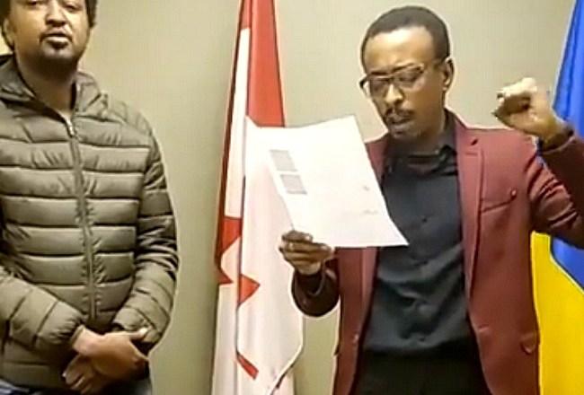 La crise tchadienne portée devant l'opinion internationale: après Paris, des activistes prennent d'assaut l'ambassade du Tchad à Ottawa