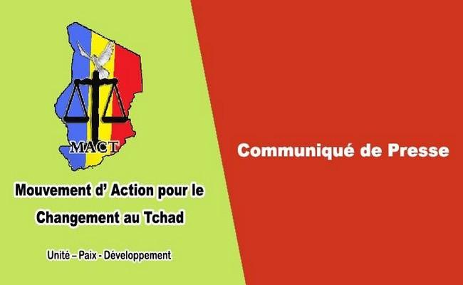 Tchad: le mouvement rebelle MACT apporte son soutien au Comité d'autodéfense de Miski «contre la dérive guerrière du gouvernement de Déby»