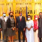 La Chargée d'Affaires américaine au Tchad rencontre une délégation des «Transformateurs» à la veille du Forum du MPS